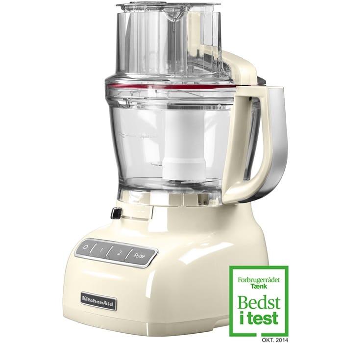 KitchenAid foodprocessor giver dig alle de fantastiske KitchenAid-kvaliteter.