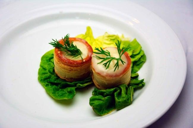 høns i asparges